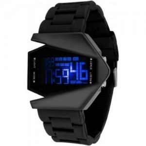 paras K-00007 Black Digital Watch