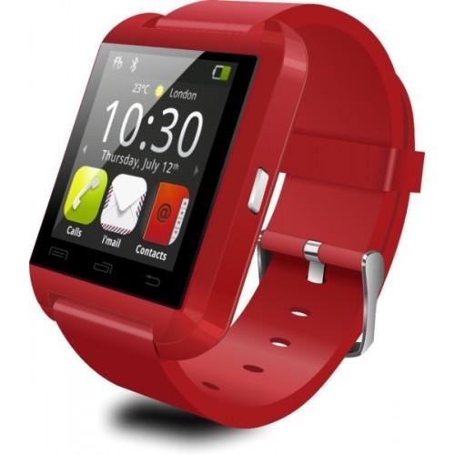 Buy BOOM U8 Red Smartwatch online   Looksgud in