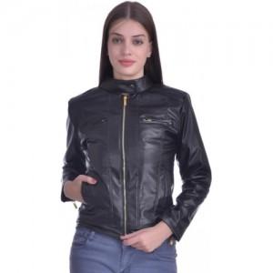 Christy World Full Sleeve Solid Women's Jacket