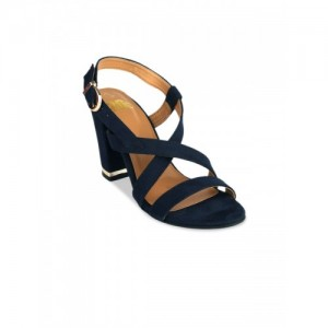 20Dresses Women Navy Blue Solid Heels