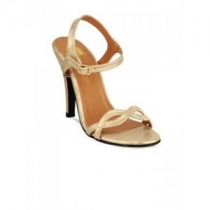 20Dresses Women Gold-Toned Solid Stilettos