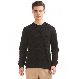 Ed Hardy Flock Print Slim Fit Sweatshirt