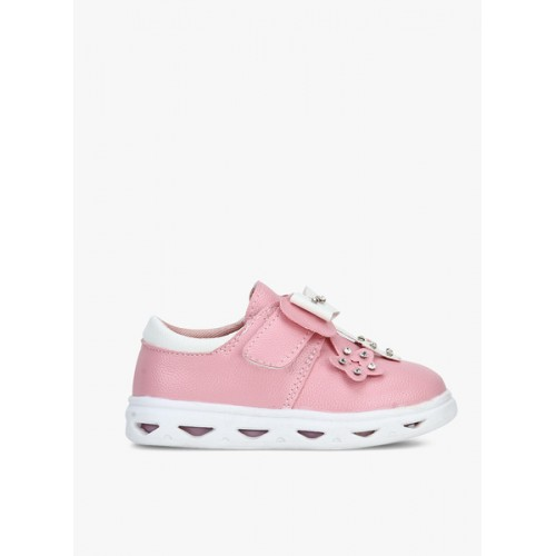 Kittens Pink Synthetic Sneakers