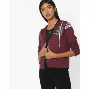 Slumber Jill Hooded Zip-Front Sweatshirt