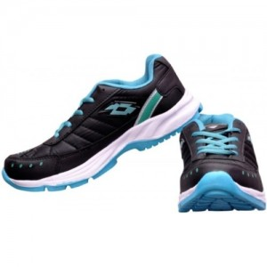Begone Black Mesh Mid Ankle Running Shoes