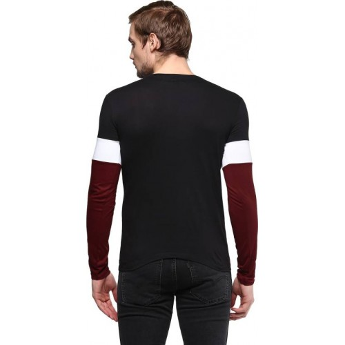 Urbano Multicolor Cotton Full Sleeve T-Shirt