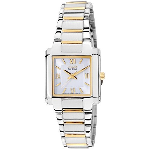 ... Citizen Eco-Drive Analog White Dial Women s Watch - EP5758- ... d9cdc3a804