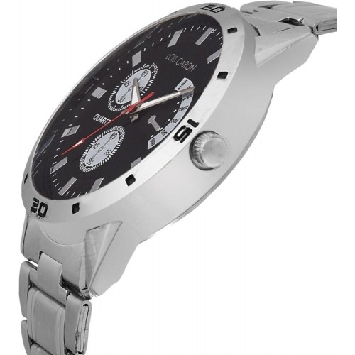 Lois Caron Lcs-4048 Chronograph Pattern Analog Watch Analog Watch  - For Boys, Men