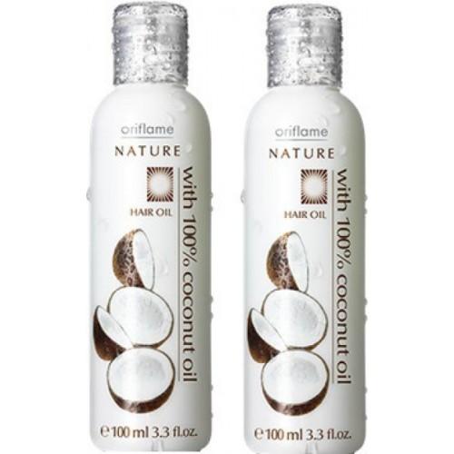 Oriflame Nature Hair Oil 100% Coconut Hair Oil