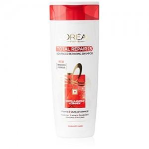 L'Oreal Paris Total Repair 5 Advanced Repairing Shampoo, 360ml+36ml Free