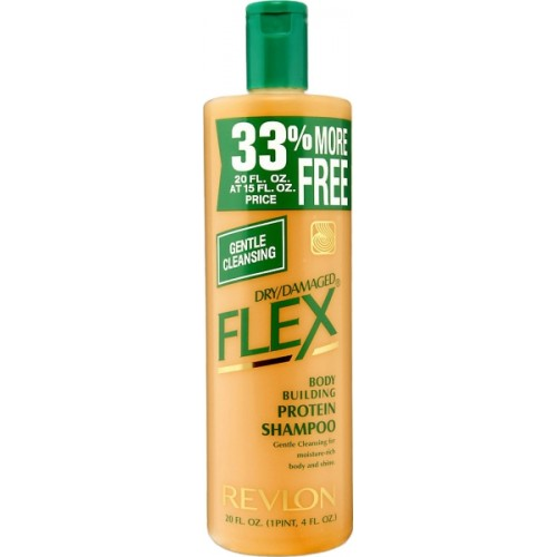 Revlon Flex Body Building Protein Shampoo - Dry Damaged