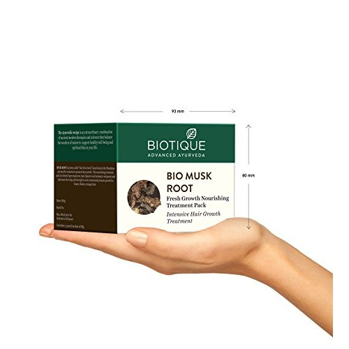 Biotique Bio Musk Root Fresh Growth Nourishing Treatment, 230g