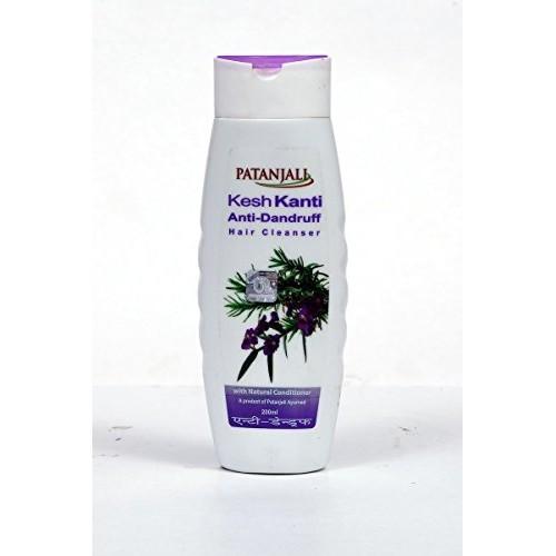 Patanjali Kesh Kanti Anti-Dandruff Hair Cleanser Shampoo, 200ml