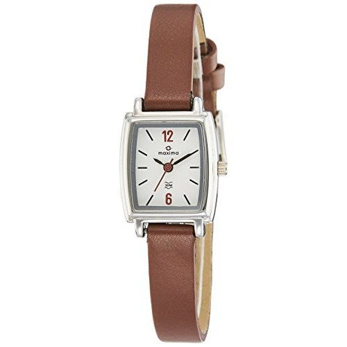 Maxima Analog White Dial Women's Watch-38843LMLI