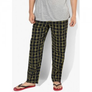 Jack & Jones Black Solid Pyjamas