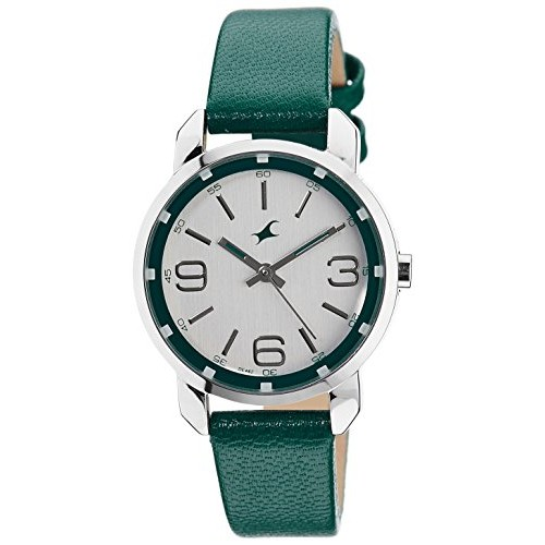 Fastrack Analog Silver Dial Women's Watch - 6111SL01