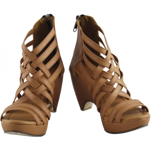 Cute Fashion Beige Heels