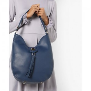 20Dresses Navy Blue Synthetic leather Solid Hobo Bag