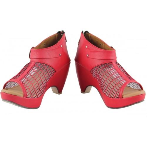 Cute Fashion Women Red Heels