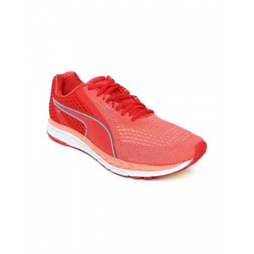 Buy Puma Women Red Speed 500 IGNITE 2 Running Shoes online  0b4e71507