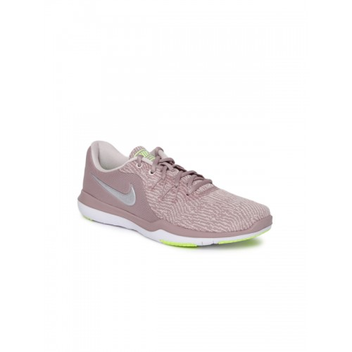 b337c99c6fdc8 ... Nike Women Mauve WMNS NIKE FLEX SUPREME TR 6 Training or Gym Shoes ...