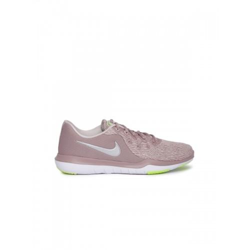 ... Nike Women Mauve WMNS NIKE FLEX SUPREME TR 6 Training or Gym Shoes ... 768b0756d