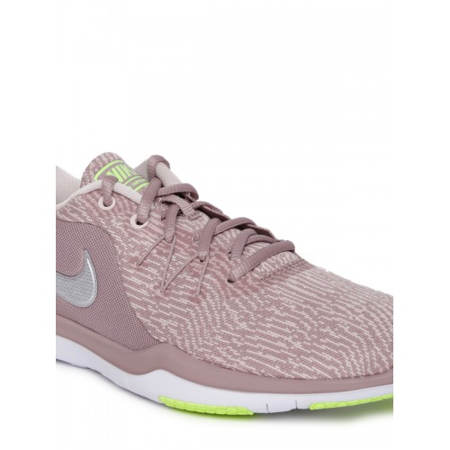1848b8216cc34 Nike Women Mauve WMNS NIKE FLEX SUPREME TR 6 Training or Gym Shoes ...