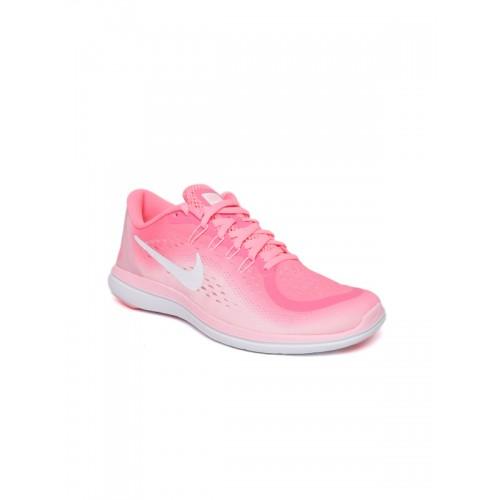 900cd808d35 Buy Nike Women Pink FLEX 2017 RN Running Shoes online