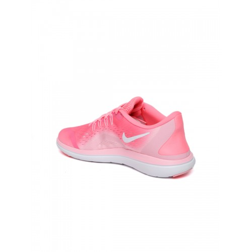 sports shoes 8efcc 3f625 ... Nike Women Pink FLEX 2017 RN Running Shoes ...