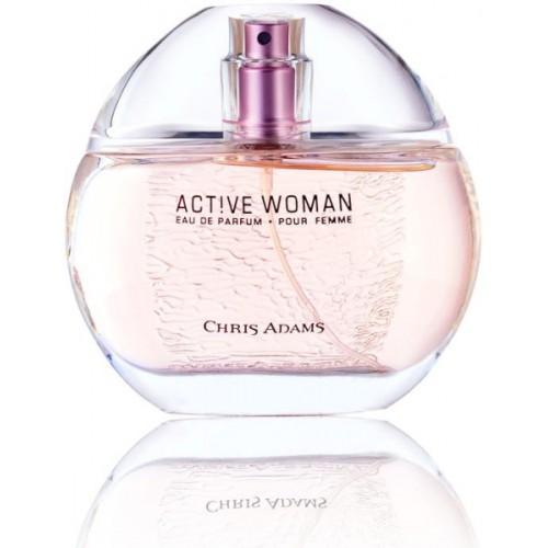 Chris Adams Active Woman Eau de Parfum  -  80 ml