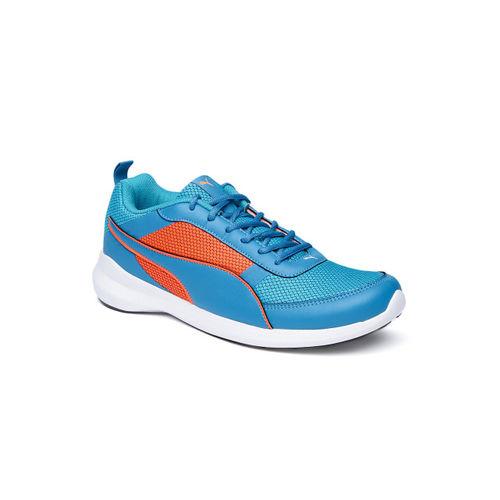 Puma Unisex Zen Evo IDP Blue Mesh Lace Up Running Shoes