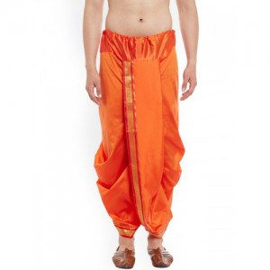 SOJANYA Orange Dhoti Pants