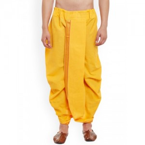 SOJANYA Yellow Dhoti Pants