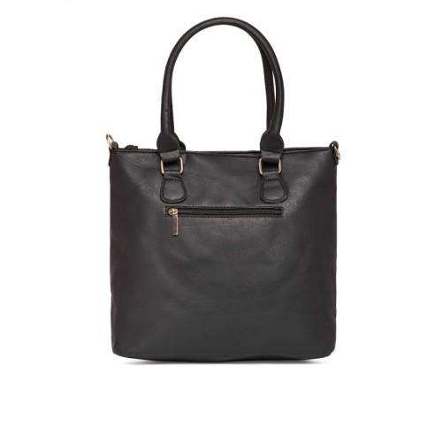 Zoricane Black Solid Shoulder Bag