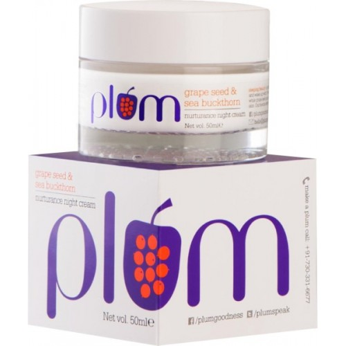 Plum Grape Seed and Sea Buckthorn Nurturance Night Cream
