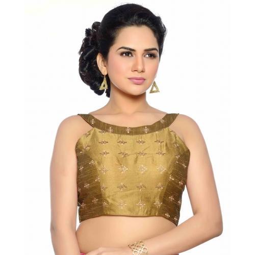 Studio Shringaar Round Neck Women's Blouse