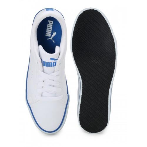 Puma Men White Sneakers