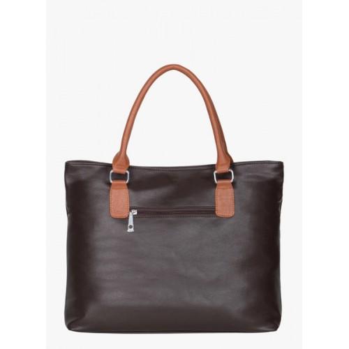 ADISA Coffee Pu Handbag