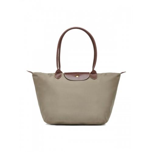 Buy Alessia74 Taupe Solid Shoulder Bag online  bf9374850d73d