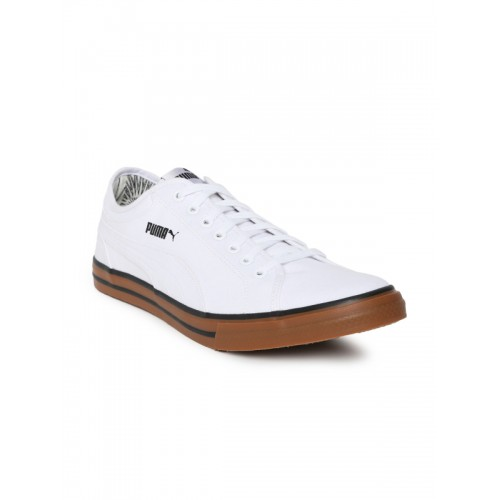 Puma Yale Gum Solid Idp White Sneakers