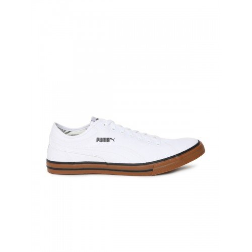 3c0672129838 Buy Puma Yale Gum Solid Idp White Sneakers online