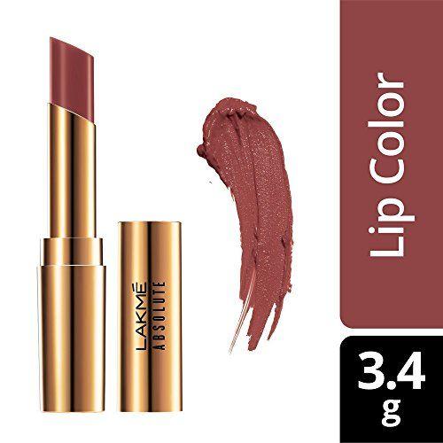 Lakmé Lakme Absolute Argan Oil Lip Color, 19 Mauve-It, 3.4g