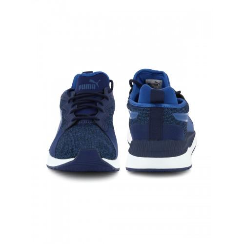 Buy Puma Men Blue Pacer Next Tw Knit shoes online  f9d83ed0c