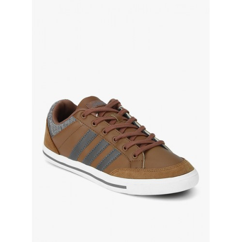 huge selection of 25cca 87780 ... Adidas Neo Cacity Brown Sneakers ...