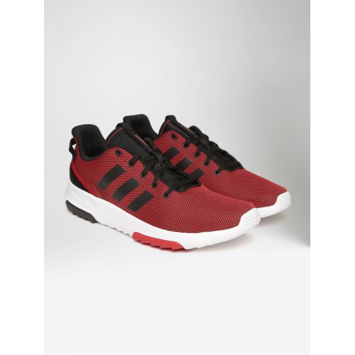 get adidas neo red sneakers bf4a4 b4923