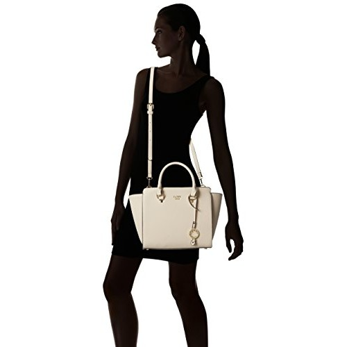 Cathy London Beige Synthetic Leather Handbag