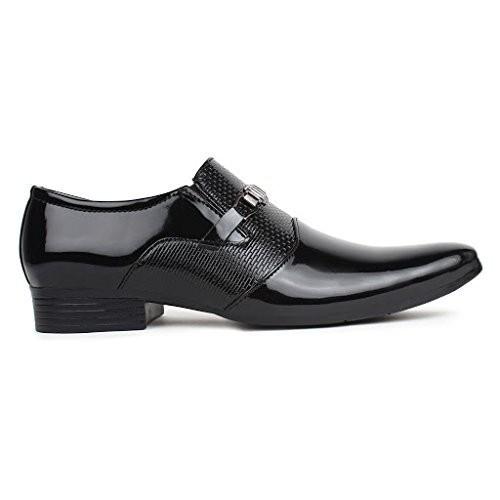 Men's Party Wear Formal Patent Leather Slip On Shoe