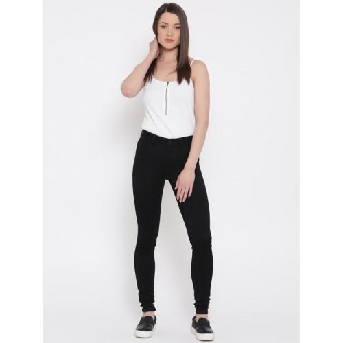 Buy Vero Moda White Bodysuit online  3d6d8c86a