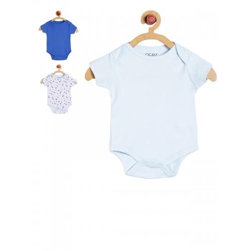 GKIDZ Infants Pack of 3 Bodysuits