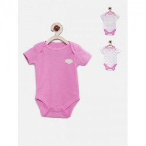 FS Mini Klub Infant Girls Pack of 3 Bodysuits
